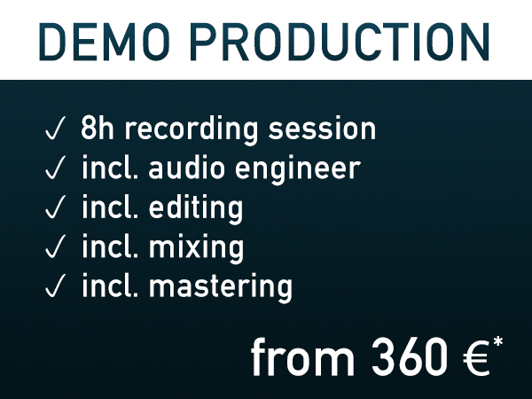 Demo Production ~ from 360€*
